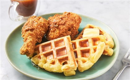 Chickenza Combines Our Two Fav Foods: Fried Chicken & Waffles