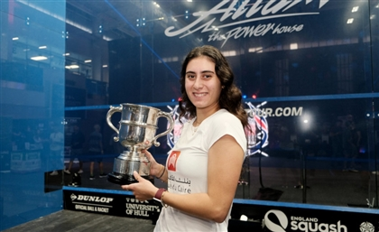 World No. 1 Squash Player Nour El Sherbini Wins British Open