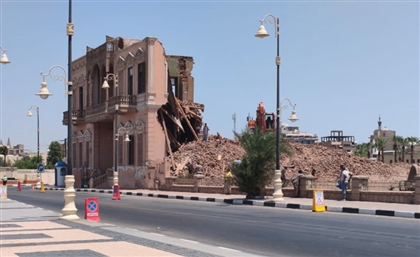 Demolition of Andraos Palace in Luxor Unveils Ancient Roman Temple