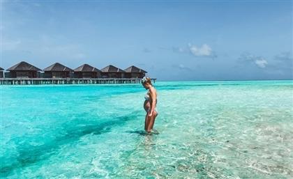 Blissful Babymoon in the Maldives