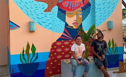 Brazilian Art Duo Acidum Project to Grace Giza with Massive Mural