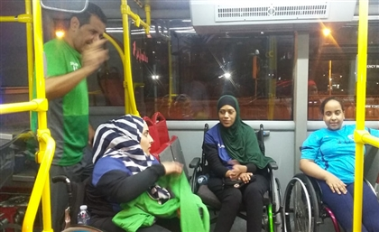 Alexandria's New Buses Can Now Accomodate People with Wheelchairs