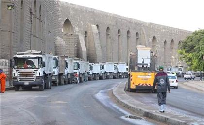 Cairo Citadel's Soaring Aqueducts Are Getting a Facelift