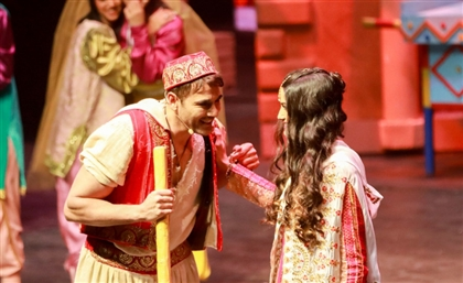 Aladdin Starring Ahmed Ezz & Tara Emad Returns to Cairo Show Theatre