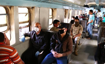 Railways Authority to Enforce Face Mask Rules with EGP 50 Fine