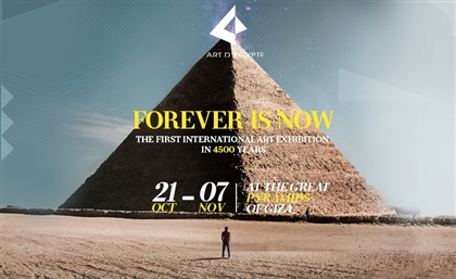 The Artists Behind Art D'Egypte's 'Forever is Now' by the Pyramids
