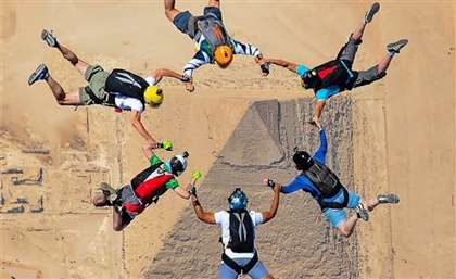 Here's Your Chance to Dive Over the Pyramids with Jump Like a Pharaoh