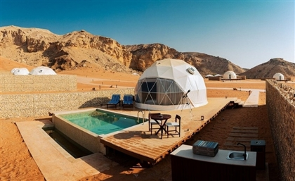 The Otherworldly Glamping Experience of Sharjah's Mysk Moon Retreat