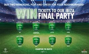 Heineken Soccer Bars Back for UCL 2015!