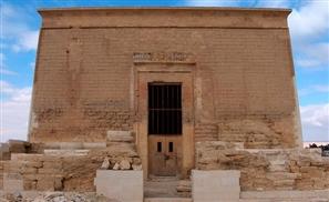 Sun Aligns with Fayoum Temple