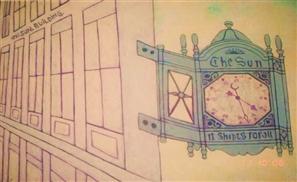 Egyptian Artist Clocks New York City
