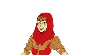 Halal Wonder Woman