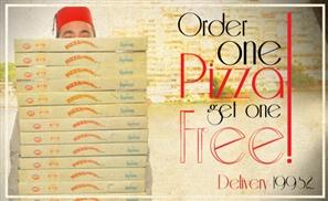Le Pacha's Double Pizza Deal