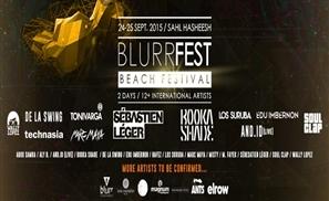 Blurr Fest Line-up Revealed
