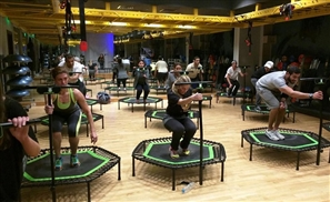 Jump Into the Next Big Thing in Fitness at Fibers