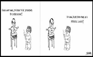 Coffee & Cigarettes Comic: Dark Humour Hits Egypt Hard