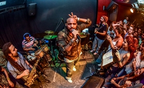 Sharmoofers & High On Body Fat Live at Cairo Jazz Club