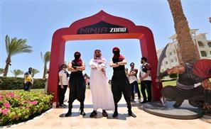 Saudi's Prince Faisal Bin Bandar Launches 'Ninja Warrior Bel3arabi' Reality Show in Egypt