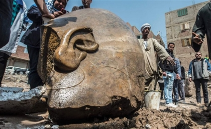 Colossal Statue of Famous Egyptian Pharaoh Found in Cairo's Matareya