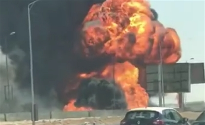 UPDATE: Massive Fire Breaks Out in New Cairo