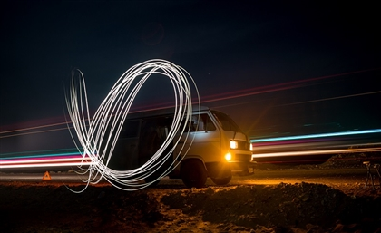 This Photographer Traveled Across Egypt to Create Insane Light Paintings