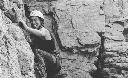 11 Heart-stopping Photos of Rock Climbers in Egypt