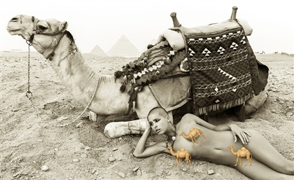 Naked at The Pyramids: These Artists Stir A World of Controversy With Nude Photos