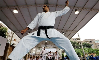 This Blind Egyptian Karate Instructor Is Inspiration Goals