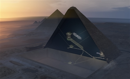 Researchers Discover a Big Void In The Great Pyramid